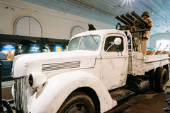 Exhibition at the Military Museums Manege On Royalty Free Stock Photo