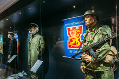 Exhibition at the Military Museums Manege On Stock Photos