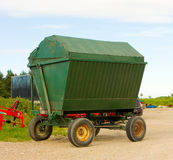 An exhibition of modern farming equipment Stock Image