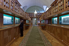 Exhibition in the National Library of Russia Royalty Free Stock Photography