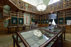 Exhibition in the National Library of Russia Royalty Free Stock Photos
