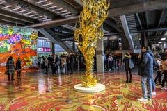 Free Exhibition Of Takashi Murakami Stock Photography - 102942702