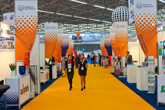 The exhibition Offshore Energy 2012. Royalty Free Stock Image