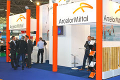 The exhibition Offshore Energy 2012. Amsterdam. Stock Image