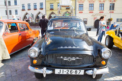 Exhibition of old cars, Jihlava, Czech Republic Royalty Free Stock Images