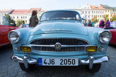 Exhibition of old cars, Jihlava, Czech Republic Royalty Free Stock Photography
