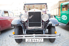 Exhibition of old cars,   Jihlava, Czech Republic Stock Photography