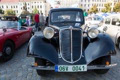 Exhibition of old cars,  Jihlava, Czech Republic Stock Image