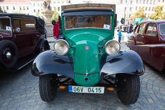 Exhibition of old cars, Jihlava, Czech Republic Royalty Free Stock Image