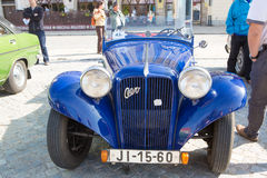 Exhibition of old cars, September 13.2015  Jihlava, Czech Republic Royalty Free Stock Photos