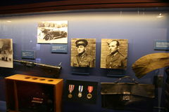 Exhibition of operation Anthropoid Royalty Free Stock Photo