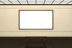Exhibition of paintings Royalty Free Stock Photos