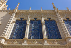 Exhibition Palace in Valencia Royalty Free Stock Image