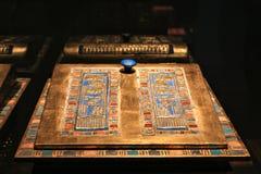 Exhibition of the pharaoh tutankamon stock photography
