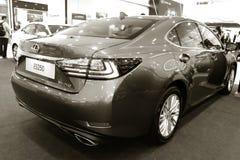 Exhibition presentation of a new car model Lexus Stock Photo