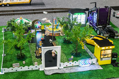 Exhibition of radio controlled models, boats, locomotives, cars, Stock Images