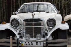 Exhibition of retro cars.