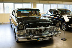 Exhibition of retro-cars in Mezhyhirya Royalty Free Stock Photography