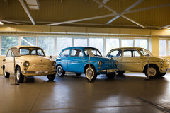 Exhibition of retro-cars in Mezhyhirya Stock Image