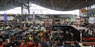 Exhibition - Retro Classics Stock Photo