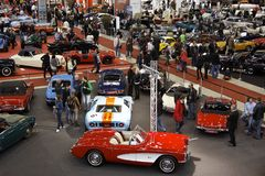 Exhibition - Retro Classics Royalty Free Stock Photos