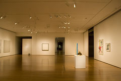 Seattle Art Museum. Exhibition room in Seattle Art Museum Royalty Free Stock Photo