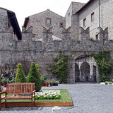 Exhibition San Pellegrino in Fiore in Viterbo - Italy Stock Photo