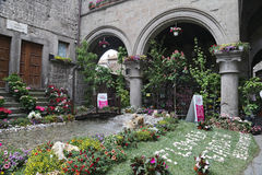 Exhibition San Pellegrino in Fiore in Viterbo - Italy Royalty Free Stock Photography