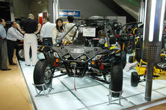 Exhibition Sections of Motorcycles. The 105th session of China Import and Export Fair, is held in April 15th-May 7th,2009. It has 3 phases.(Phase1: April 15th Royalty Free Stock Photography