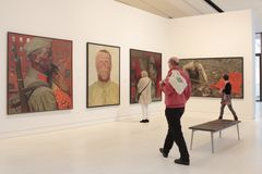 Exhibition The Soviet Myth in the Drents Museum in Assen Royalty Free Stock Image