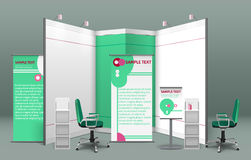 Exhibition Stand Concept Stock Photography