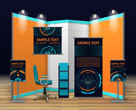 Exhibition Stand Design Stock Photography