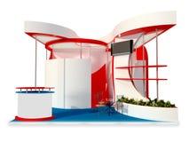Exhibition stand design Stock Photos