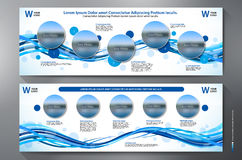 Exhibition Stand Displays Template Royalty Free Stock Photography