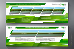 Exhibition Stand Displays Template Stock Photo