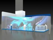 Exhibition Stand Interior - Exterior Sample. See my other works in portfolio Royalty Free Stock Images