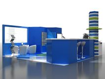 Exhibition Stand Interior Sample Stock Images