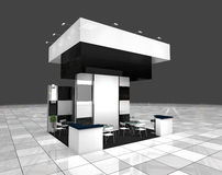 Exhibition stand Royalty Free Stock Photo