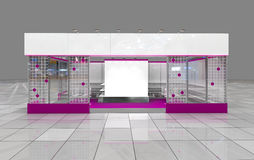 Exhibition stand Stock Images