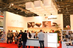 Exhibition Stand at Photokina 2008 Stock Photo