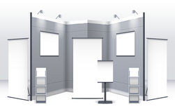 Exhibition Stand Template Stock Photos