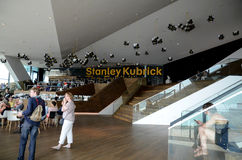Exhibition of Stanley Kubrick films. Stock Photo