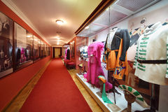 Exhibition of theatrical costumes in Vakhtangov Theatre Stock Photos