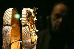 Exhibition of Tutankhamun Stock Images