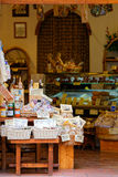 Exhibition of typical products of Pienza, Tuscany Royalty Free Stock Image