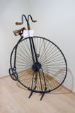 Exhibition of vintage bicycles Stock Photo