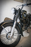 Exhibition of vintage motorcycles Royalty Free Stock Image