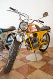 Exhibition of vintage motorcycles Royalty Free Stock Photography