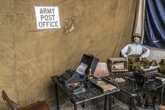 Exhibition of World War I Royalty Free Stock Photos
