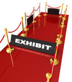 Exhibition for you success Stock Photography